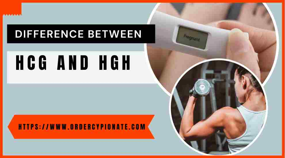 Know the difference between HCG and HGH